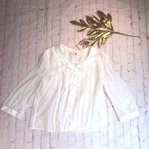 NWT Anthropologie Button-up Blouse